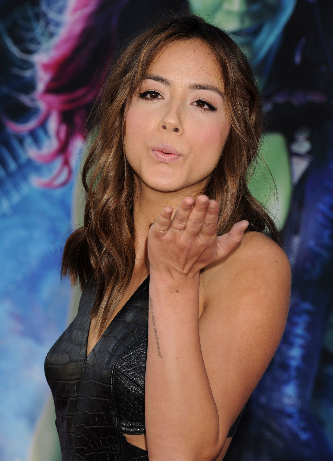 Chloe Bennet Guardians Of The Galaxy World Premiere In