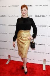 Christina Hendricks – 'Magic In The Moonlight' Premiere in New York City
