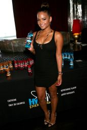 Christina Milian Attends the GBK Luxury Sports Lounge in Hollywood - July 2014