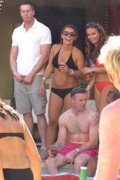 Coleen Rooney Bikini Candids - Las Vegas, June 2014