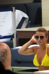Coleen Rooney With Wayne Rooney  - Las Vegas, July 2014