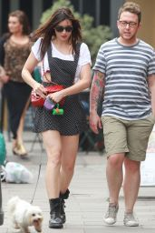 Daisy Lowe at Primrose Hill in London - July 2014