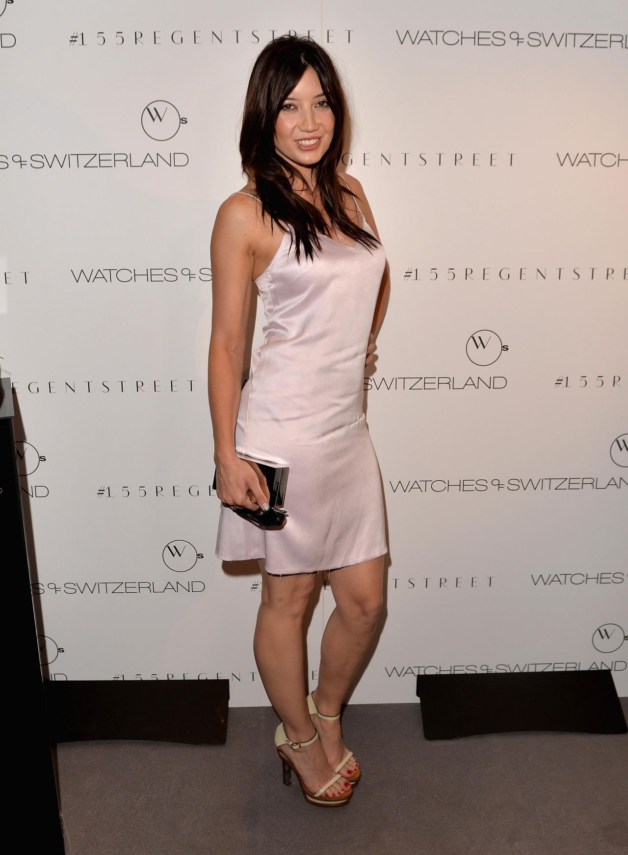 Daisy Lowe Hot In Dress Watches Of Switzerland Flagship