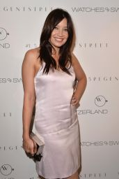 Daisy Lowe Hot in Dress - Watches Of Switzerland Flagship Showroom Launch in London