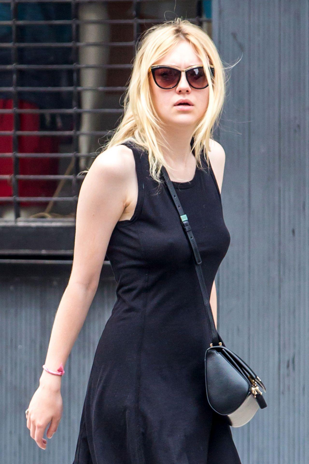 Dakota Fanning - Out In Nyc, July 2014-7259