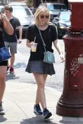 Dakota Fanning Style - Out in New York City, July 2014