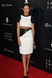 Dania Ramirez on Red Carpet – Lexus Short Films Premiere in Los Angeles
