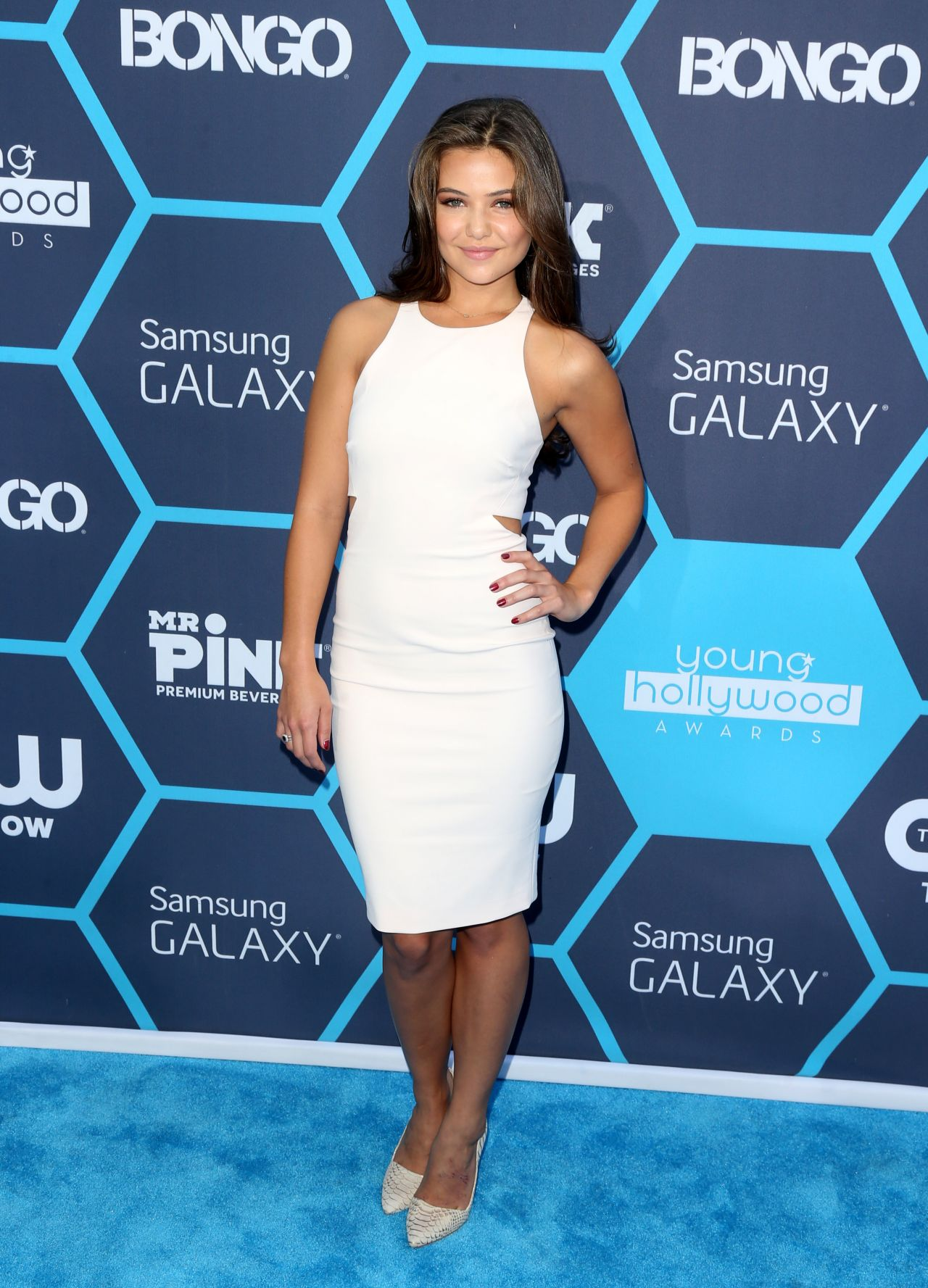 Danielle Campbell 2014 Young Hollywood Awards In Los Angeles