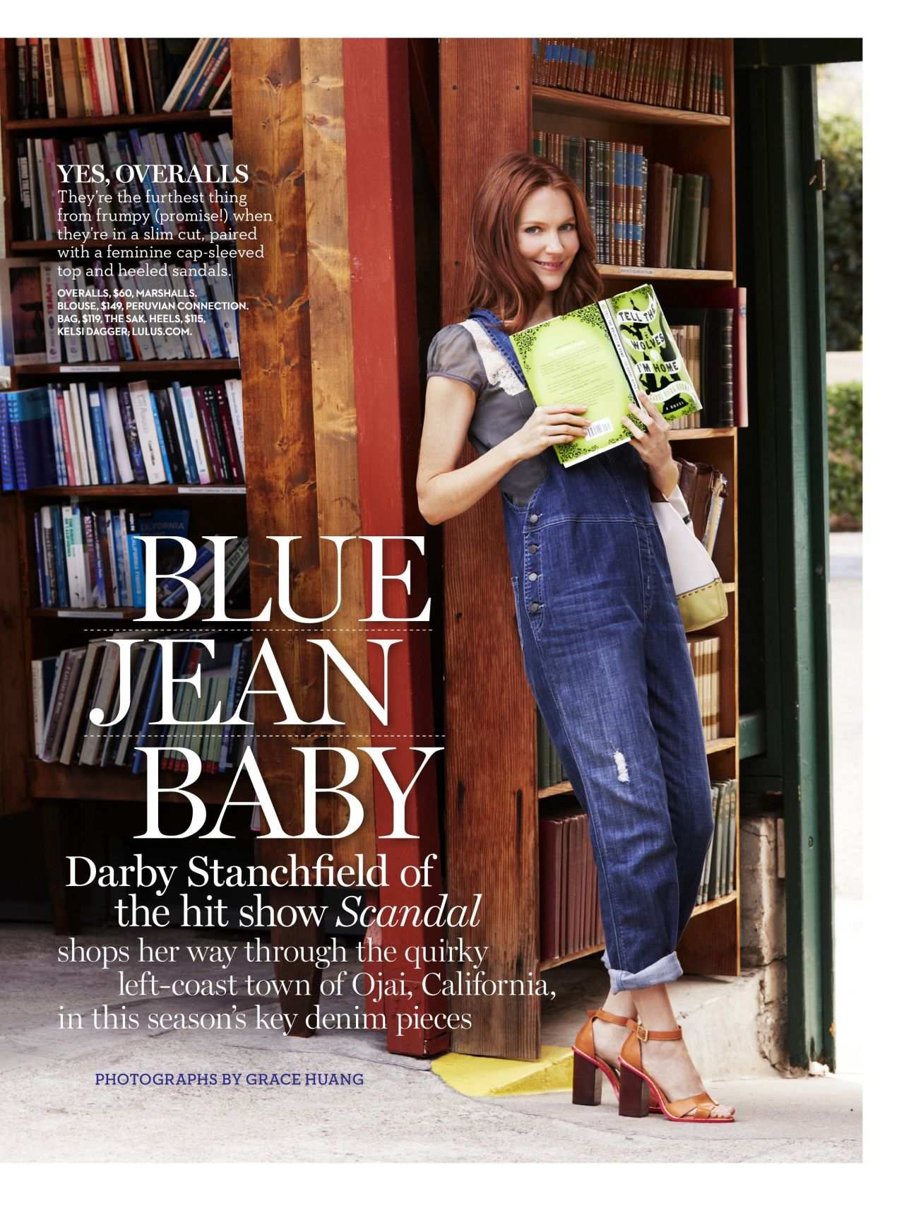 Darby Stanchfield - Good Housekeeping Magazine - August 2014 Issue