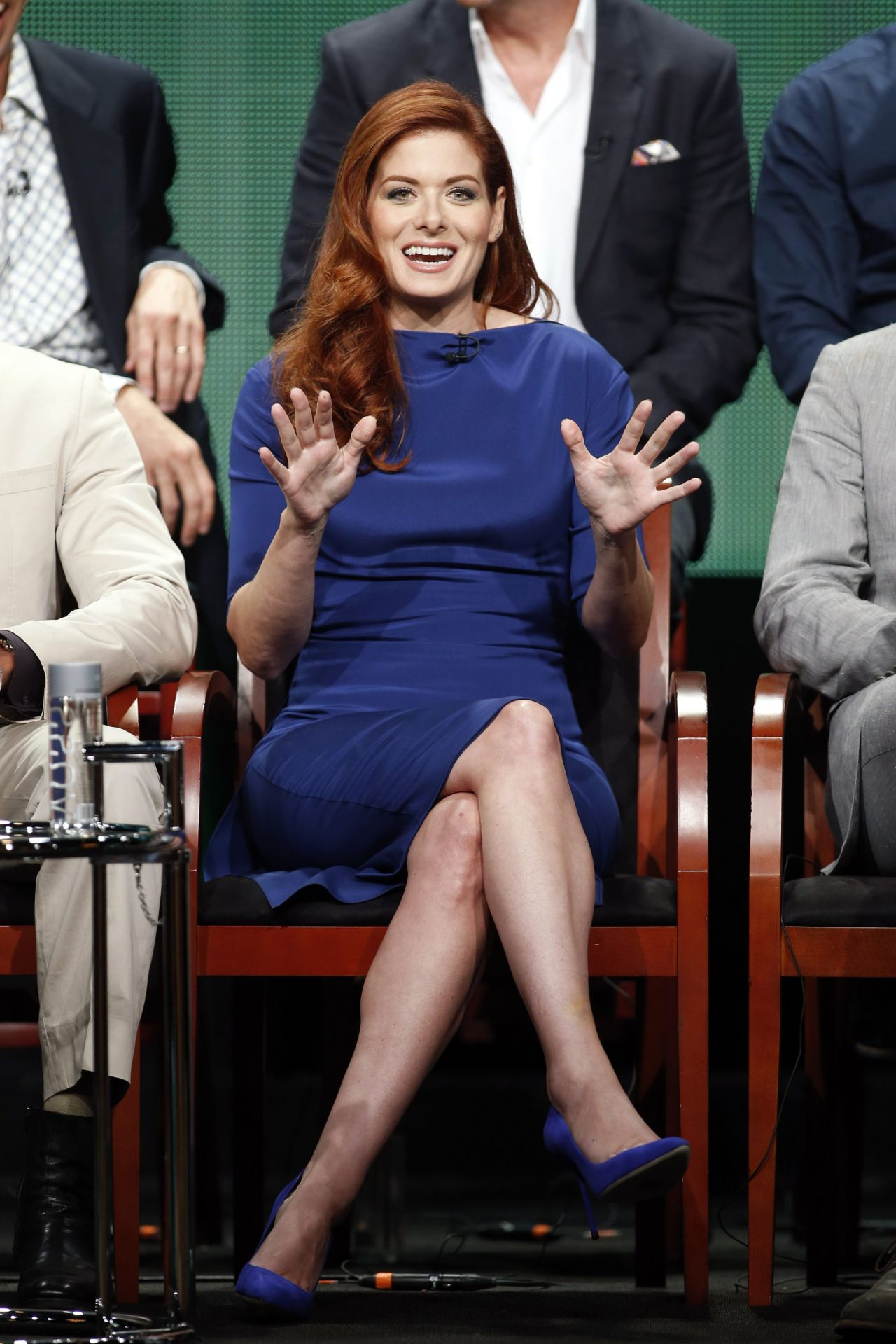 Debra Messing - NBC Universal Summer TCA Tour - July 2014