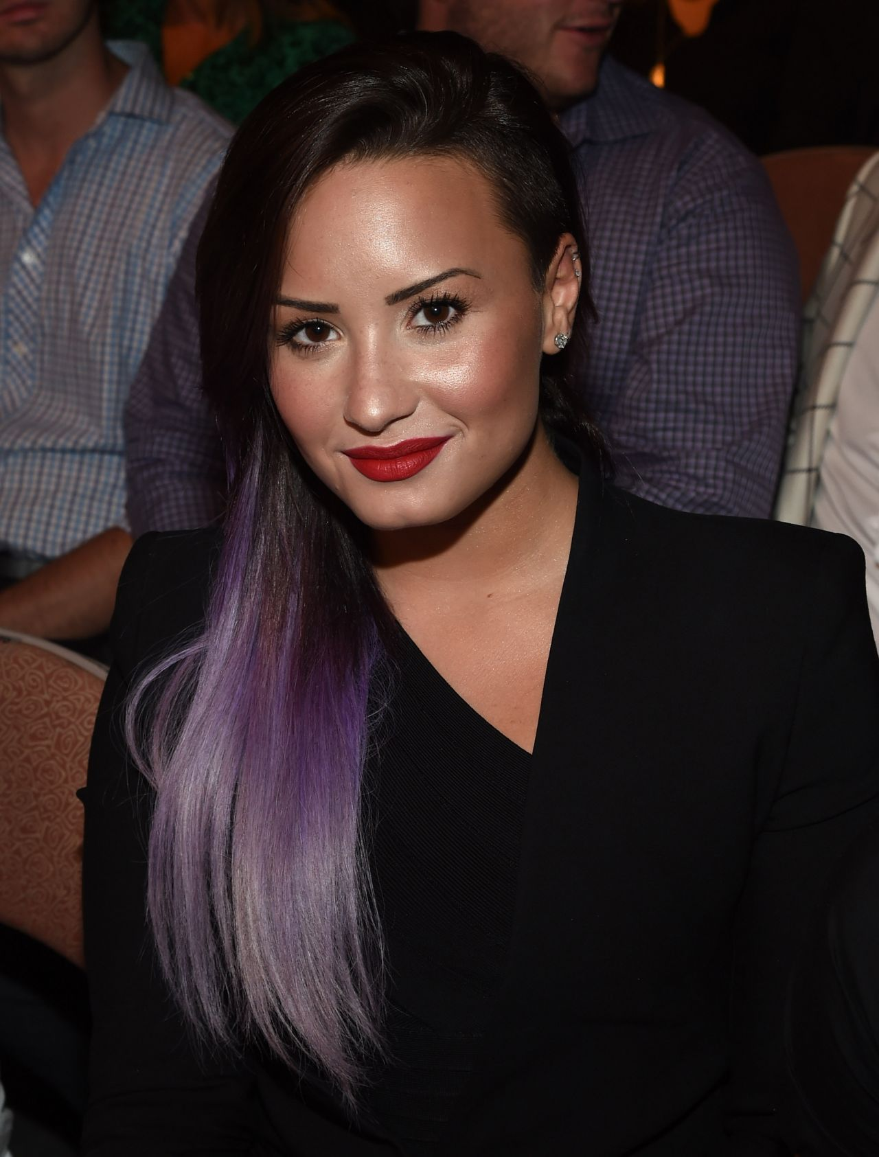 Demi Lovato at UFC 175 - Weidman v Machida,  July 2014