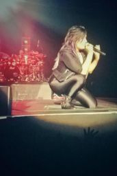 Demi Lovato Performs at The Neon Lights Tour in Reno