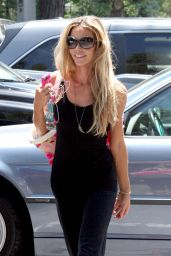 Denise Richards Street Style -Shopping in Beverly Hills - July 2014