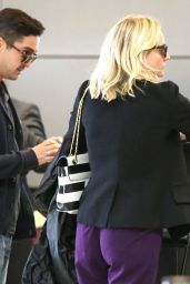 Diane Kruger Arriving on a Flight at LAX in Los Angeles - June 2014