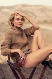 Diane Kruger Photoshoot for Vanity Fair Magazine, July 2014