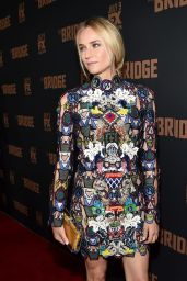 Diane Kruger – 'The Bridge' TV Series Season 2 Premiere in West Hollywood