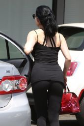 Dita Von Teese - Leaving Yoga Class in Los Angeles - July 2014