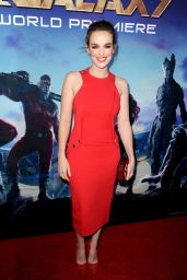 Elizabeth Henstridge – 'The Guardians of the Galaxy' World Premiere in Los Angeles