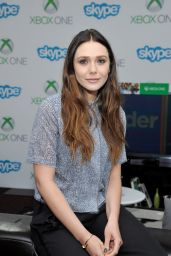 Elizabeth Olsen - Microsoft VIP Lounge at Comic-Con 2014 in San Diego