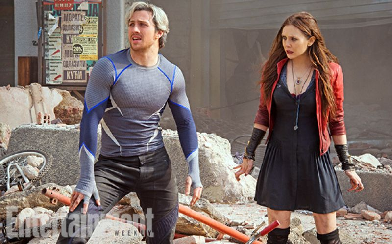 Elizabeth Olsen - The Avengers: Age of Ultron Photos - EW Magazine July 2014