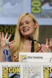 Elle Fanning - Focus Features Comic-Con 2014 Panel