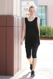 Elle Fanning Heads to the LIV