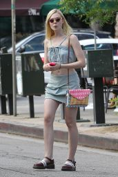Elle Fanning - Out Shopping in Studio City - July 2014