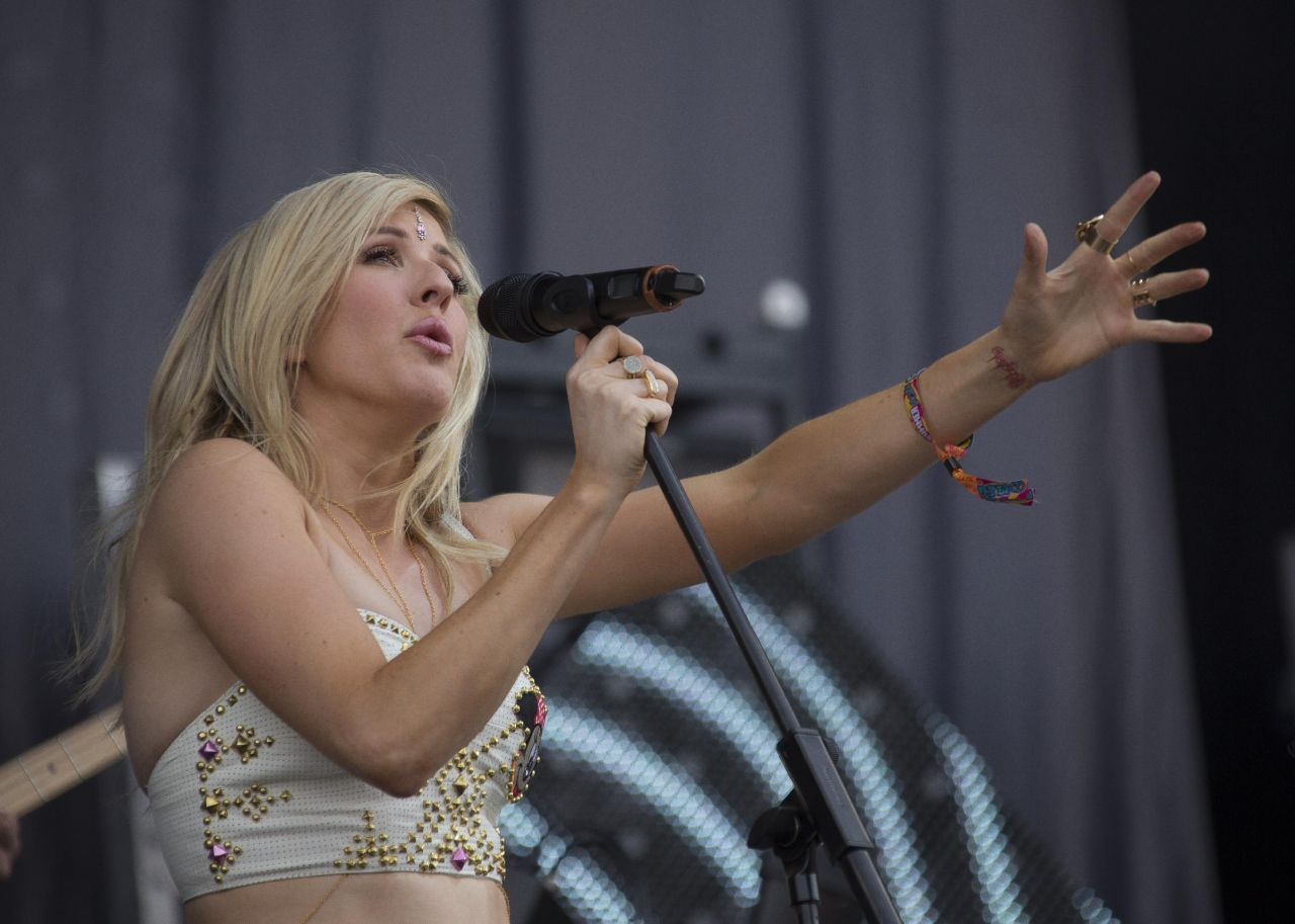Ellie Goulding - 2014 Wireless Festival
