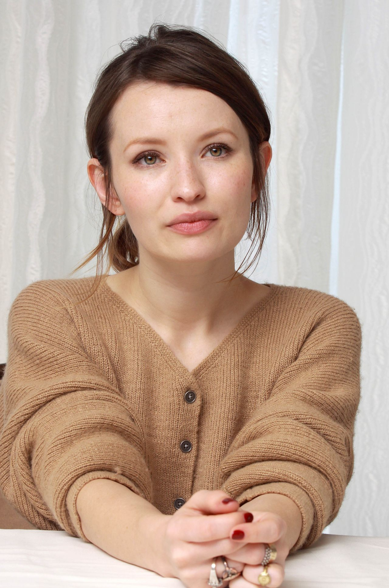 Emily Browning 2014 Munawar Hosain Portrait Session