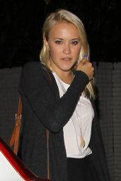 Emily Osment - Leggy at the Chateau Marmont in LA - July 2014