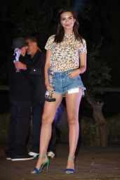 Emily Ratajkowski - 2014 Ischia Global Film & Music Fest - Day 1