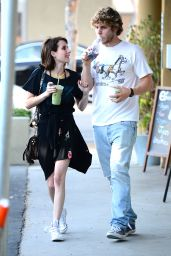 Emma Roberts Casual Style - Out in LA - June 2014