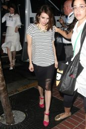 Emma Roberts Leaving EW