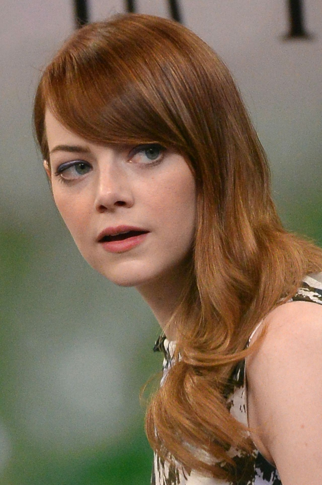 Emma Stone At Good Morning America In New York City July