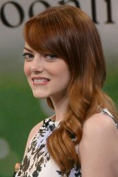 Emma Stone at Good Morning America in New York City - July 2014