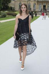 Emma Watson – Christian Dior Fashion Show During Paris Fashion Week – July 2014