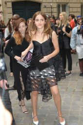 Emma Watson – Christian Dior Fashion Show During Paris Fashion Week – July 2014