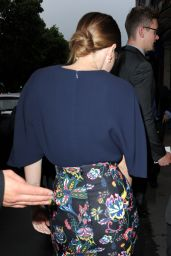 Emma Watson in Paris - Dior After Party at Caviar Kaspia - July 2014