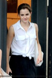 Emma Watson Out in London - July 2014