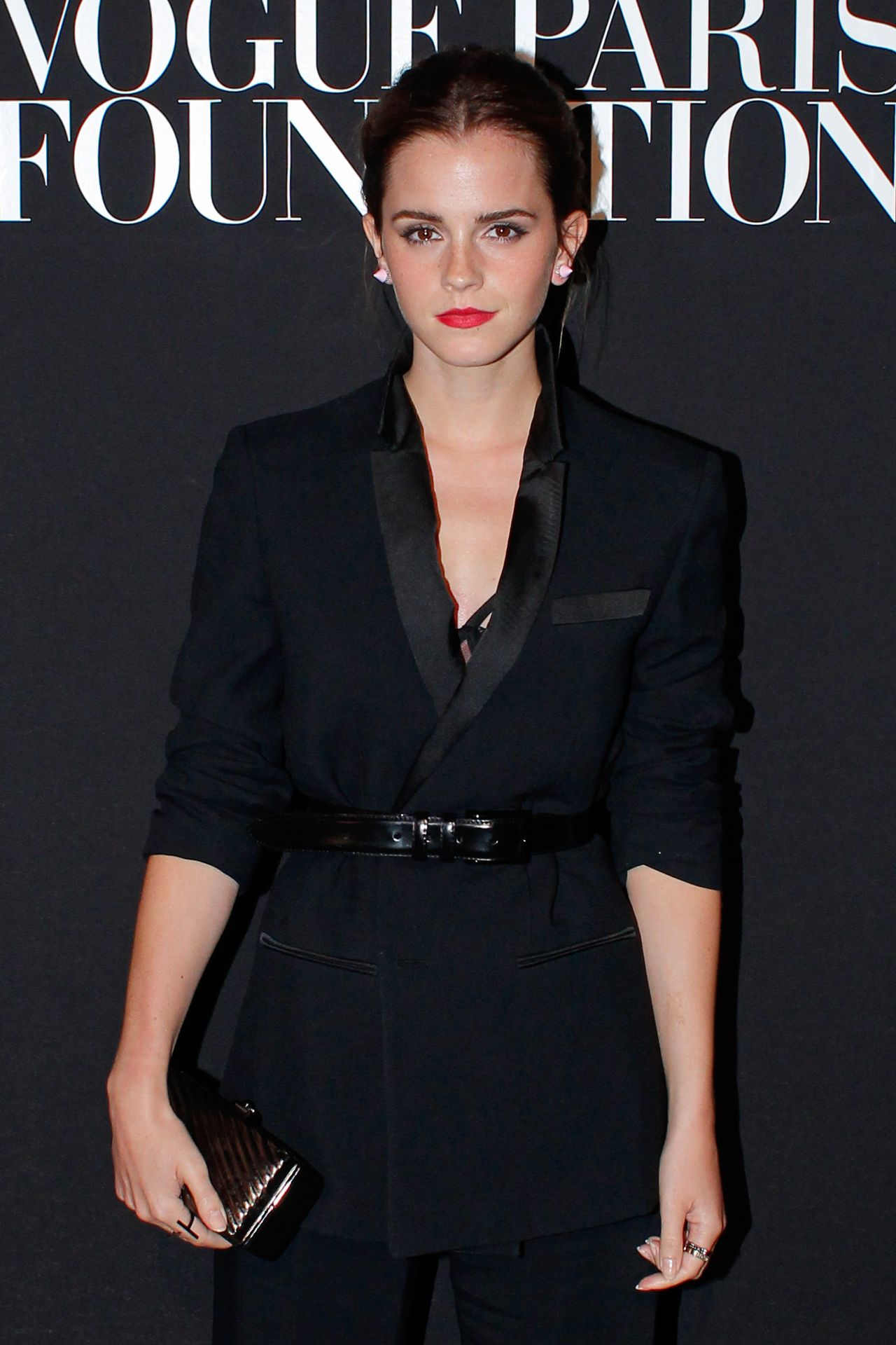 Emma Watson – Paris Fashion Week – July 2014