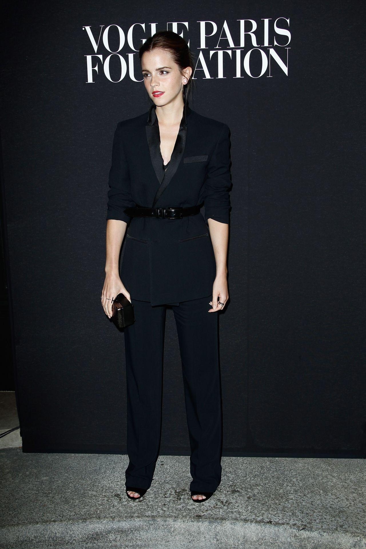 Emma Watson Paris Fashion Week July 2014