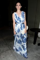 Emmy Rossum Night Out Style - at Craig