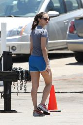 Emmy Rossum - On The Set of