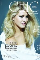 Eugenie Bouchard - CHIC Magazine Summer 2014 Issue