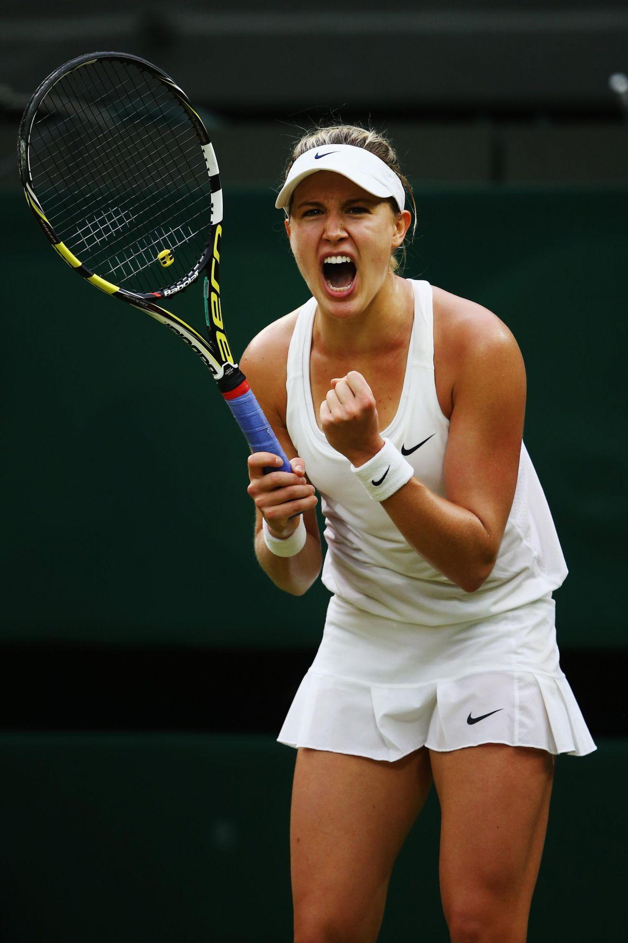 Eugenie Bouchard Wimbledon Tennis Championships 2014