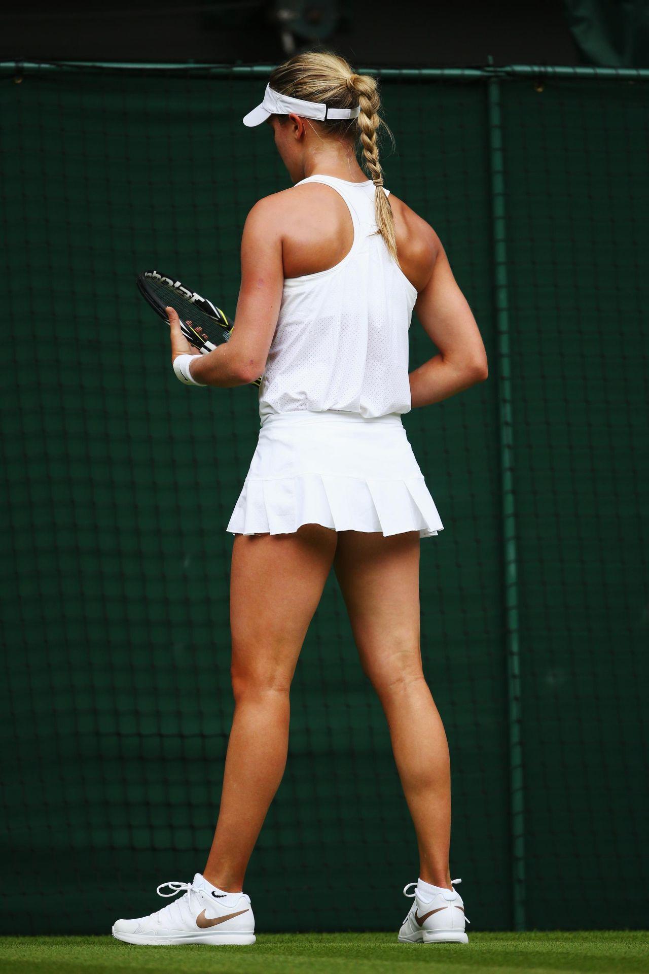 eugenie bouchard � wimbledon tennis championships 2014