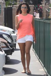 Eva Longoria Leggy - Out in Los Angeles - July 2014