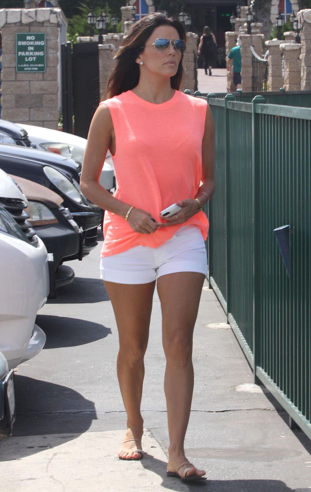 Eva Longoria Leggy - Out in Los Angeles - July 2014 Katherine Heigl Instagram