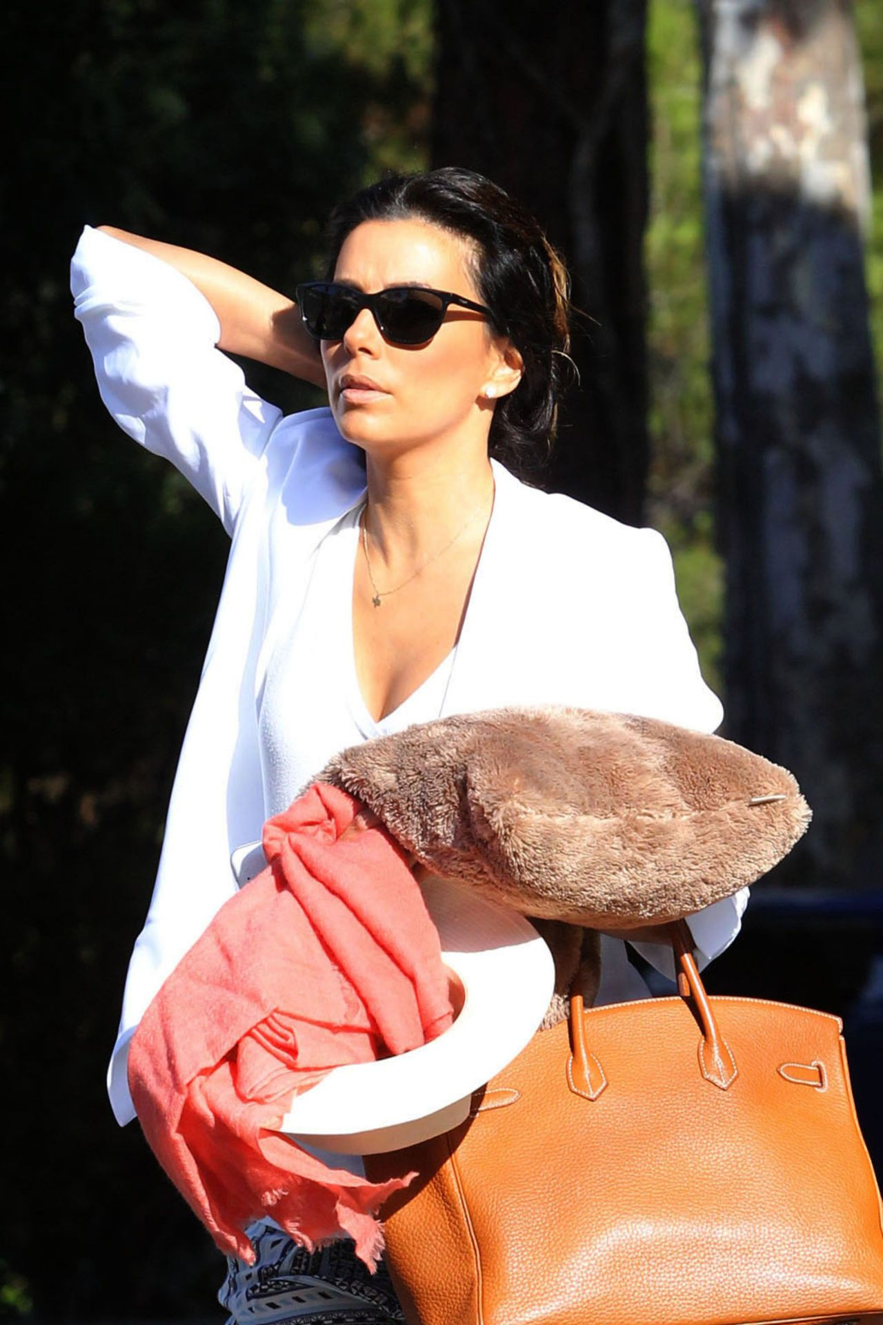 Eva Longoria - Out in Los Angeles - July 2014