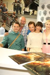 Evangeline Lilly – Warner Bros. at Comic-Con 2014 in San Diego